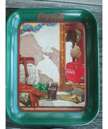 Coca-Cola Tray Reflections in the Mirro Reproduction of 1950 Ad Art Issu... - $12.87