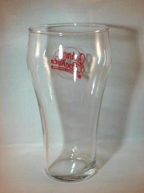 "JOHNNY ROCKETS ""The Original Hamburger"" Glass - Great Deal!"