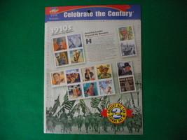 Celebrate the Century 1910's Mint Stamp Sheet NH VF Original pk - $5.57