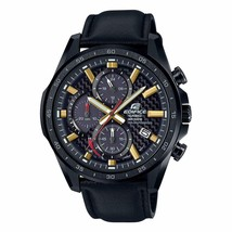 Casio Edifice Analog Black Dial Men's Watch-EQS-900CL-1AVUDF (EX436) - $243.09