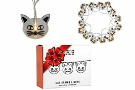 Brooklyn Lighting Company -  20 LED Cat String Lights, Battery Operated ... - $13.90