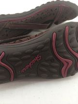 Skechers Womens 8M Shoes Wedge Wine Color Memory Foam image 10
