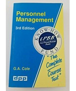 Personnel Management 3rd Edition - $11.50