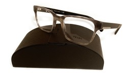 Prada Women's Gray Havana Glasses with case VPR 06U VYR-1O1 52mm - $209.99