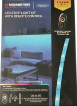 Monster Illuminessence LED Strip Light Kit with Remote Control New - $19.79