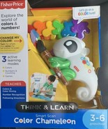 Fisher-Price Think & Learn Smart Scan Color Chameleon Colors Counting Ga... - $19.79