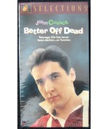 Vhs-Better Off Dead-Movie - $4.50