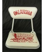 Clarin Metal Oklahoma OU Sooners Stadium Cushioned Boxx Seat Vintage - $75.23