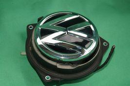 12-16 Volkswagen VW Beetle Trunk Lid Latch Release Switch Emblem Badge Lock image 6