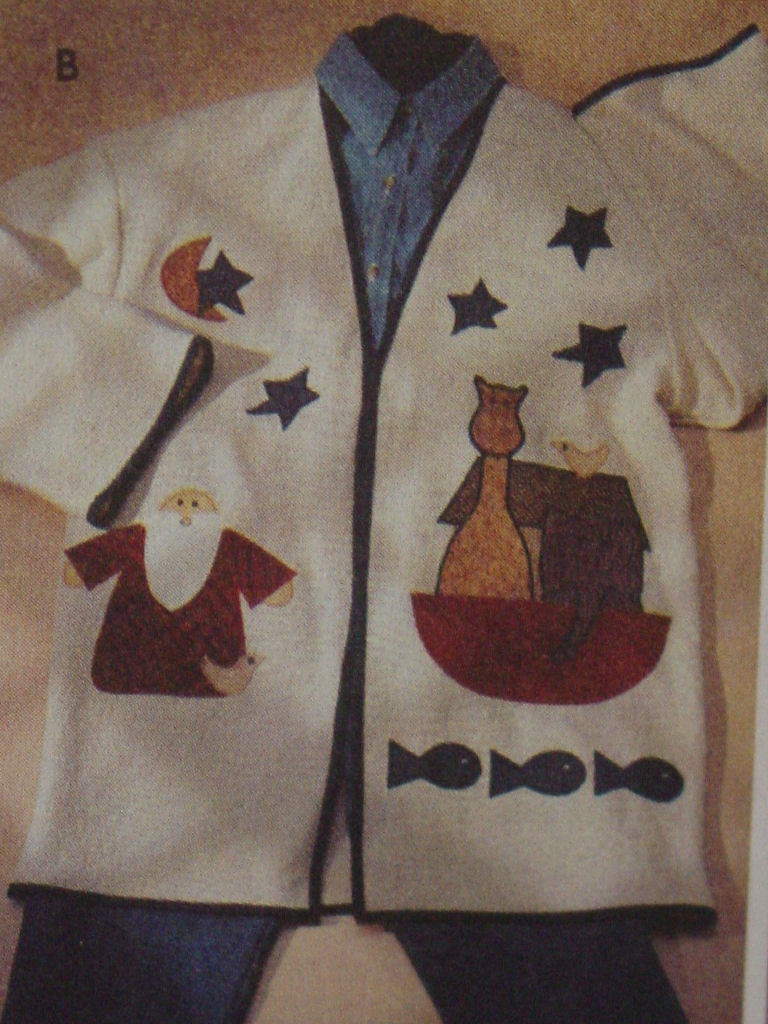 Pattern 7032 Women's Appliqued Jackets 6 Designs