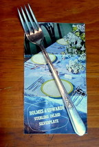Holmes Edwards Dinner Fork Youth Pattern Inlaid Silverplate Vintage - $4.68