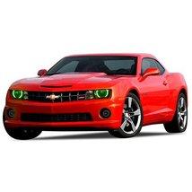 FLASHTECH for Chevrolet Camaro 10-13 Green Single Color LED Halo Ring He... - $136.22