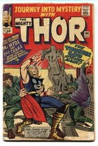 Journey into Mystery #106 comic book 1964- Thor- Jack Kirby- Silver Age G - $27.32