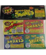 ssorted Magic Color Snakes Glow Worms  20/Pk (4 Boxes 5 Pcs/Box), Select... - $3.95+