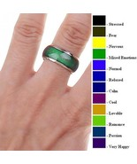 Mood Ring Temperature Feeling Emotion Color Changing Jewelry Fine Classi... - $4.99