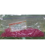 4mm ROUND BEADS THE BEADERY PLASTIC FUCHSIA 1 PACKAGE 1,600 COUNT - $3.99