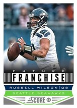 2013 Panini Score Future Franchise #327 Russell Wilson NM-MT RC Rookie S... - $1.99