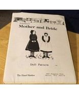 Amishland: Mother & Bride Doll Pattern - $9.49