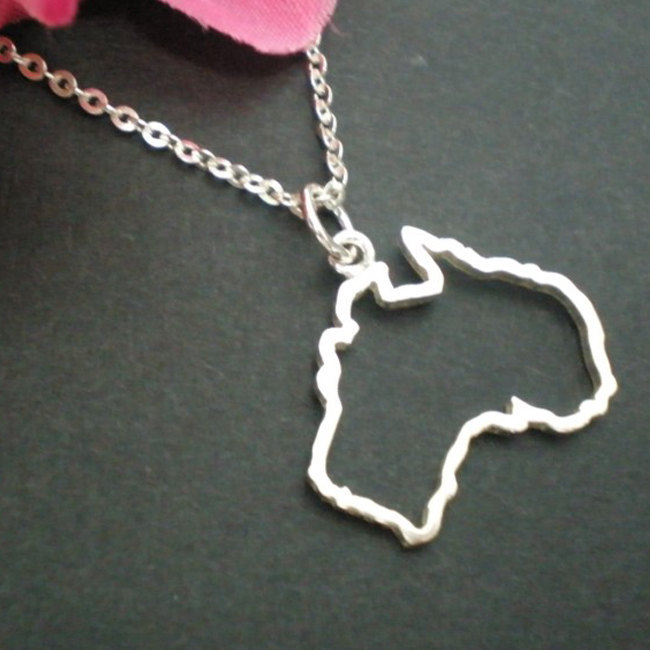 Necklace with date in Melbourne