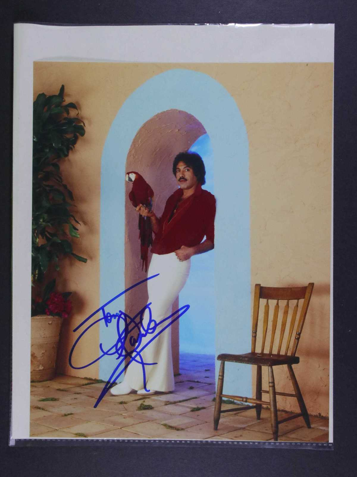 Primary image for Tony Orlando Signed Autographed Glossy 8x10 Photo