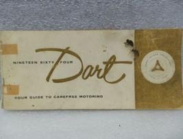 DODGE DART 1964 Owners Manual 16268 - $18.76