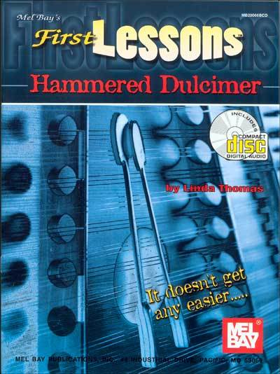 First Lessons Hammered Dulcimer/Book/CD set/New