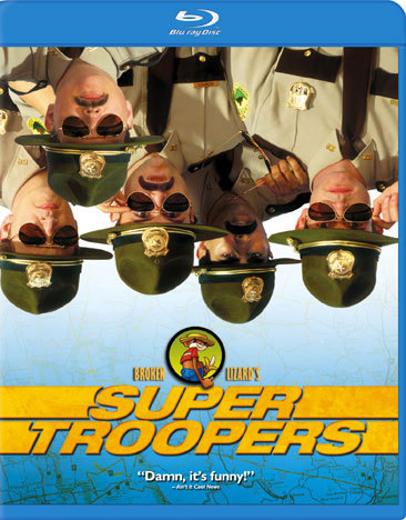 Super Troopers (Blu-Ray/Eng-Fr-Sp Sub/Sac)
