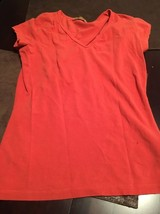 blue asphalt top orange medium womens - $9.74
