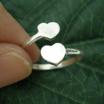Personalized Heart Ring - Engraved Heart Ring - Custom Gift - Any Letter... - $32.00