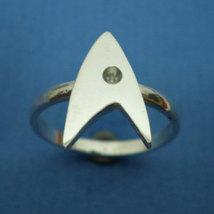Sterling Silver Trek Engagement Ring - Geek Nerd - Star Trek Fans image 4