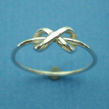 Silver Dainty Infinity Ring - Etsy Jewelry - $25.00