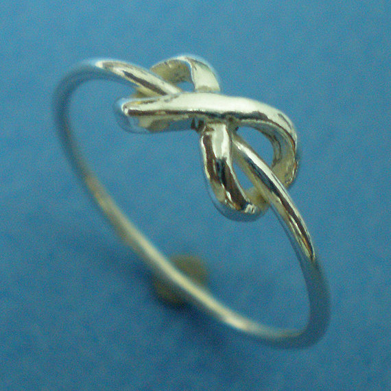Silver Dainty Infinity Ring - Etsy Jewelry
