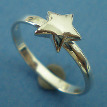 Silver Star Ring - US 3 - 13 - $25.00