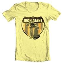 The Iron Giant T-shirt retro nostalgic animated movie cartoon film tee WBM216 image 2