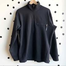 Patagonia Vintage Activist Fleece 1/4 Zip Black L - $57.80