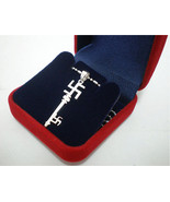 Ganesh Swastika Buddha Hindu Key Charm Pendant Necklace Chain - $29.00