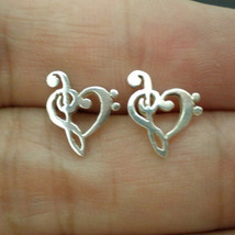 Musical Note Ear Stud Earring - Musical Note Jewelry - Music Note Jewelr... - $49.00
