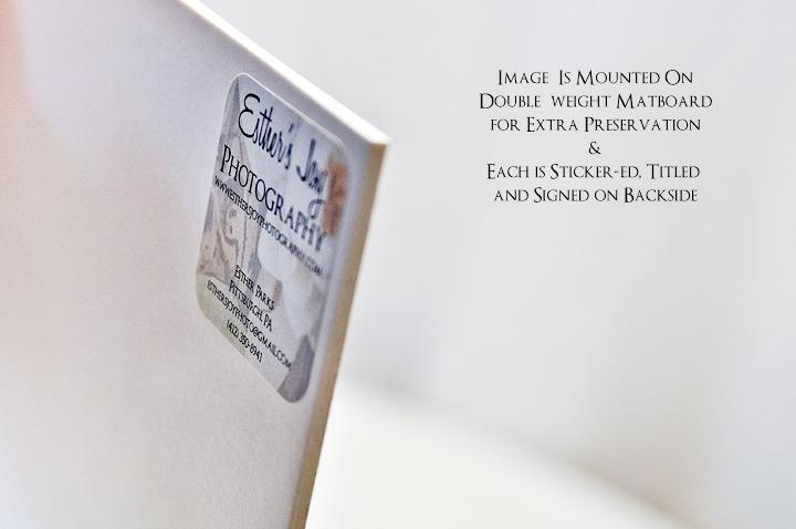 'Docks at Dusk BW' - 12x18 Mounted Fine Art Print