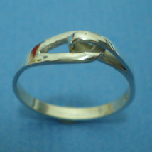 Anniversary Relationship Love Silver Infinity Ring - $25.00