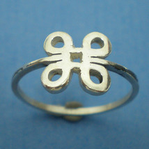 Mac Command Symbol Silver Ring - Geekery Jewelry - US 3 - 13 - $25.00