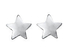 Star Silver Stud Earring - Small Tiny Cute Little Adorable High Quality - $29.00