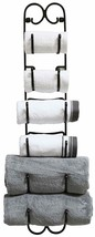 Wall Mount Multi-Purpose Towel/Wine/Hat Rack, Bronze - $75.02