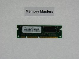 MEM17XX-32U48D 32MB to 48MB DRAM Memory for Cisco 1700 Series(MemoryMasters)