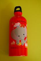 Aluminium Water Bottle ~ Elph's Circus (Red) - $14.98