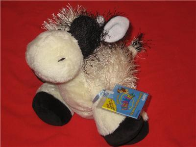 WEBKINZ NEW COLLECTIBLE COW  LARGE SIZE