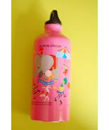 Aluminium Water Bottle ~ Elph's Circus (Pink) - $14.98