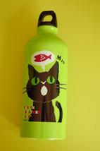Aluminium Water Bottle ~ Papier (Green) - $14.98