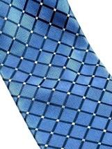 Nautica Blue Diamond Necktie 100% Silk - $10.99