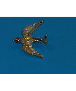 Aurora Borealis Bird Brooch Pin - $19.97