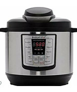 New Instant Pot 6 Qt. Stainless Steel Pressure Cooker No Chemical Coat I... - $69.29